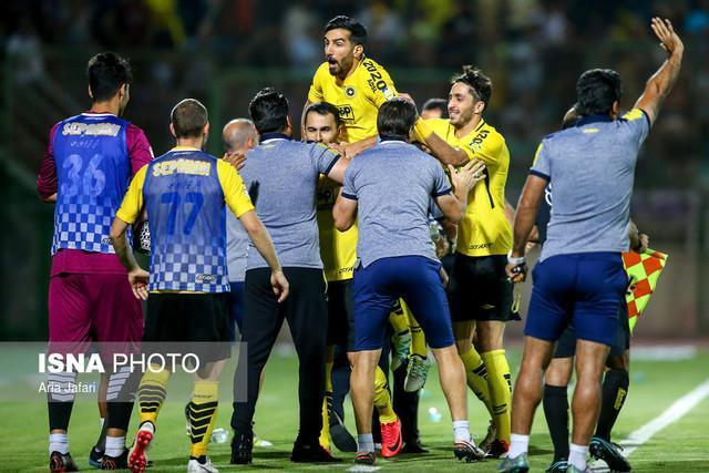 صعود سپاهان به مرحله یک هشتم نهایی جام حذفی با پیروزی مقابل شهرداری ماهشهر