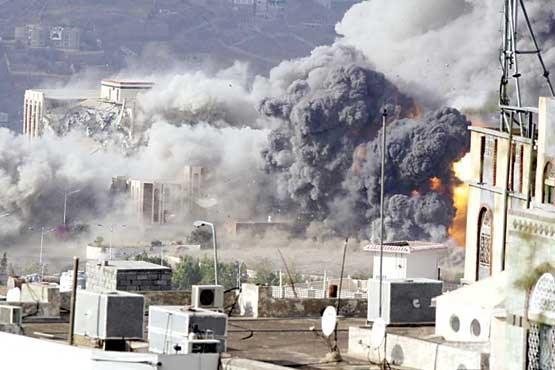 حمله توپخانه ای ائتلاف متجاوز سعودی به مناطق مسکونی الحدیده