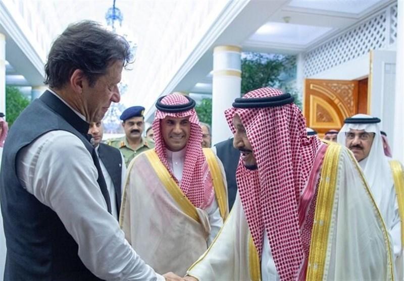دیدار نخست وزیر پاکستان با پادشاه سعودی