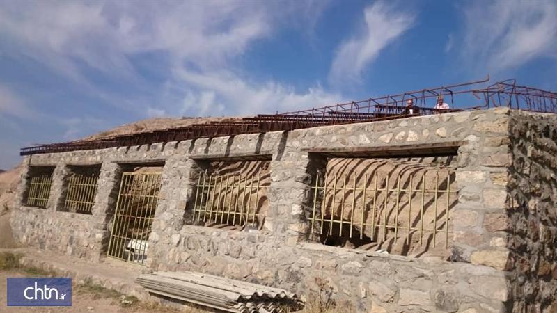 پیشرفت 50 درصدی ساخت ورودی غار گلستان در شهرستان نیر